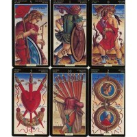 Купить Таро Древних Магов - Ancient Enlightened Tarot Sola Busca